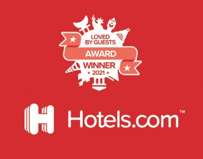 Loved by guest award winner 2021 Hotels.com Flandria Hotel